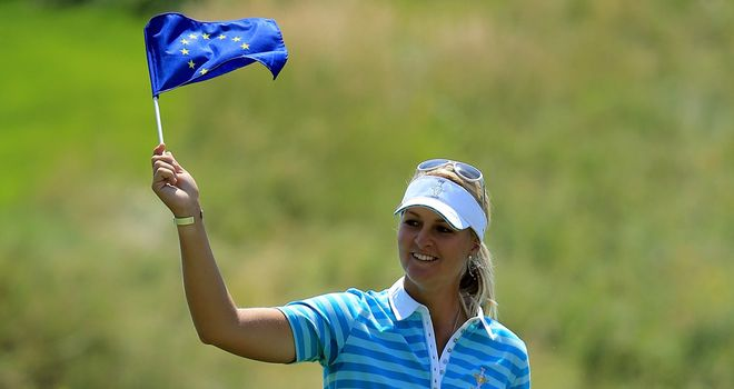 Hole-in-one hero Anna Nordqvist