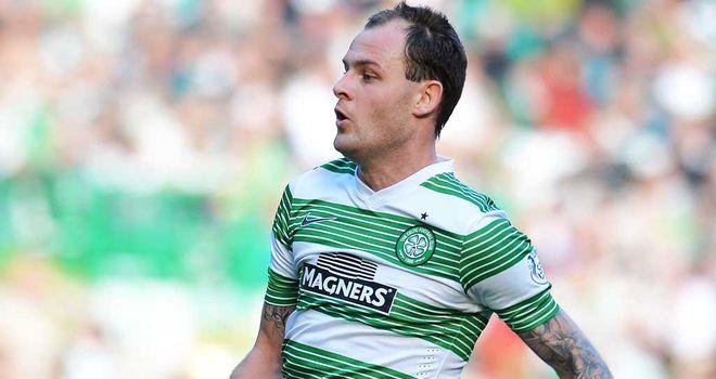 Anthony Stokes: Celtic striker scored a late winner against Dundee United