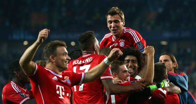 Bayern Munich: Winners of the UEFA Super Cup on penalties