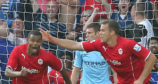 Frazier Campbell (left) being backed for further England honours