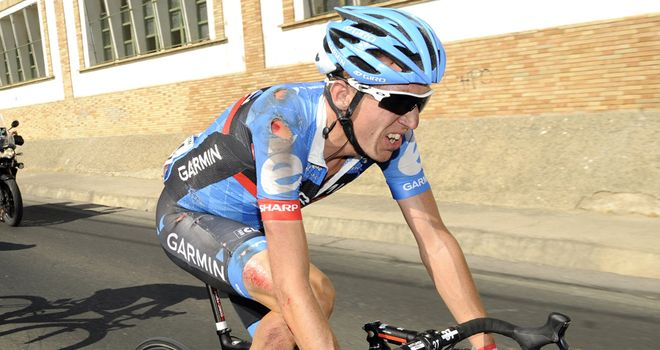 Dan Martin: Leaves the Vuelta after heavy crash on Friday