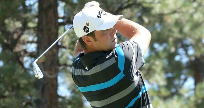 Gary Woodland during Saturday's third round in Nevada