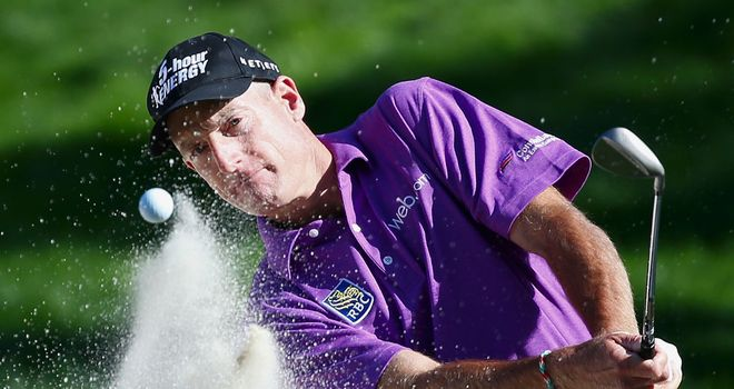 Jim Furyk: Says he prefers to have the lead rather than having to chase