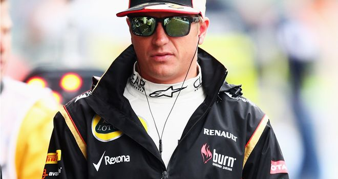 Kimi Raikkonen: Would prefer not to see anymore rain