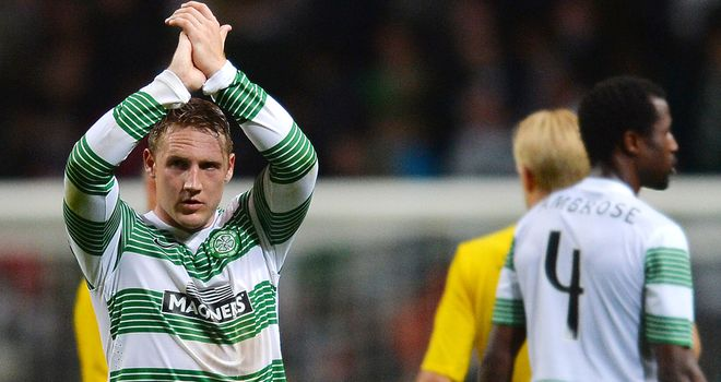 Kris Commons: Second-half header earned Celtic a 1-0 win