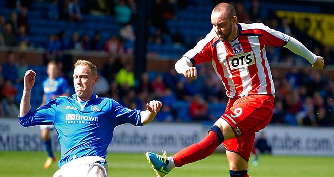Boyd goes close for Kilmarnock
