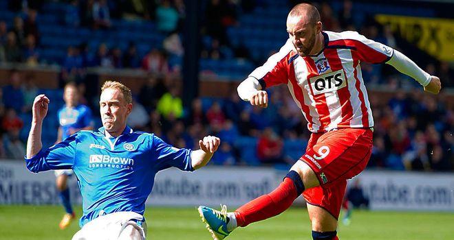 Boyd goes close for Kilmarnock