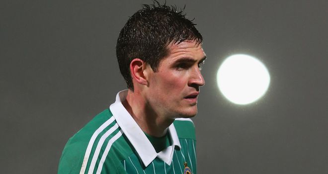 Kyle Lafferty: Facing the wrath of the Northern Ireland manager