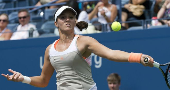 Laura Robson: Eased into the second round in China