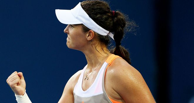 Laura Robson will face Li Na in round three at the US Open
