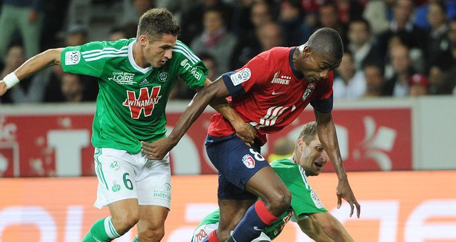Solomon Kalou scored the only goal for Lille