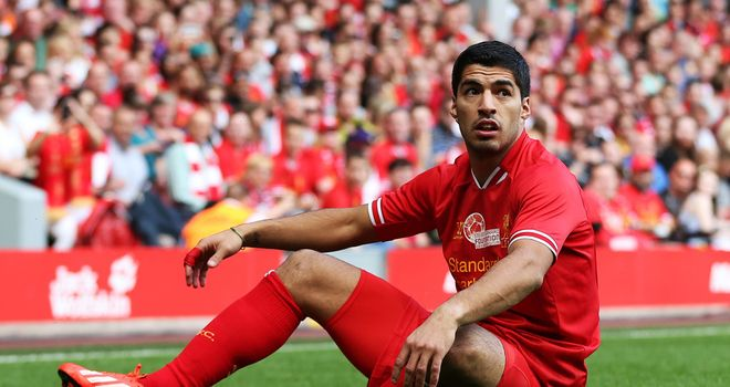 """Luis Suarez: Hoping for """"friendly"""" resolution to future"""