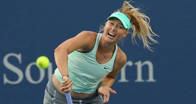 Maria Sharapova: Out of action since August