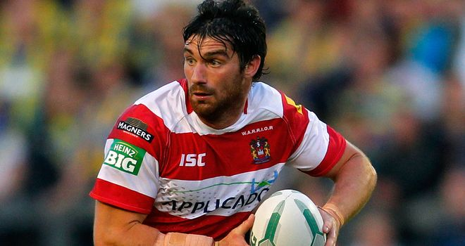 Matt Smith: Will feature for Wigan at Catalan Dragons on Saturday