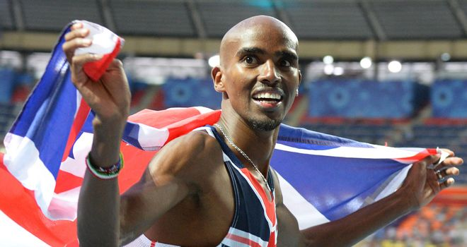Mo Farah: British athlete still keen on charity race against Usain Bolt
