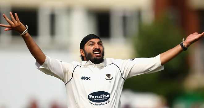 Monty Panesar: Leaving Sussex and spending rest of 2013 with Essex