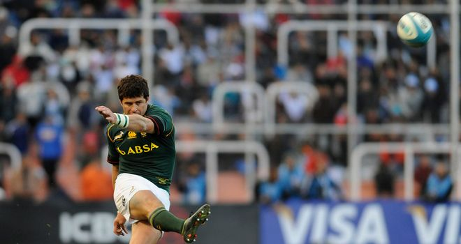 Morne Steyn: accurate kicking is vital