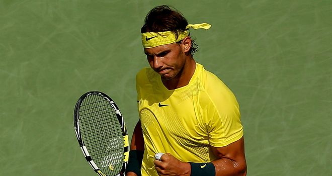 Rafael Nadal: Had to come from behind in both sets to see off Jerzy Janowicz