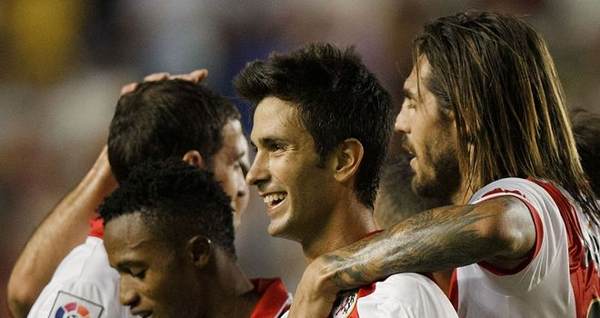 Rayo Vallecano celebrate