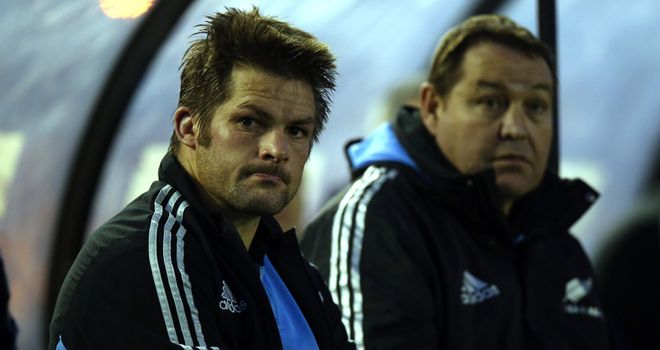Richie McCaw has been named in the starting line-up by head coach Steve Hansen