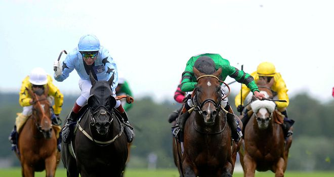 Royal Skies (left): Wins at the Shergar Cup meeting
