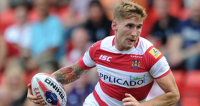Sam Tomkins: Back for Wigan in Friday's mouth-watering clash against the Giants