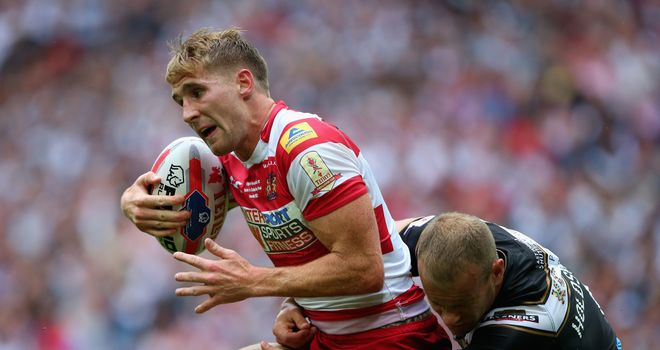 Sam Tomkins: Wigan star moving to the NRL