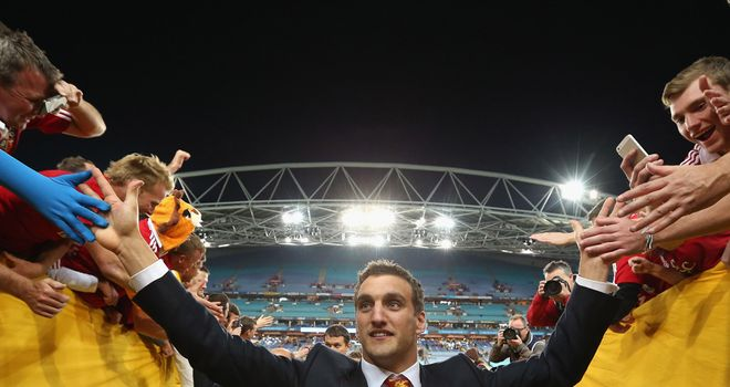 Sam Warburton: Desperate to make history with Wales in 2014