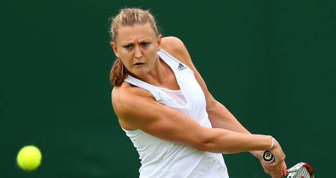 Samantha Murray: Through to the US Open second qualifying round