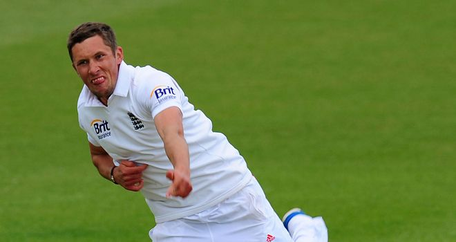 Simon Kerrigan: Named in England squad for the Oval Ashes Test