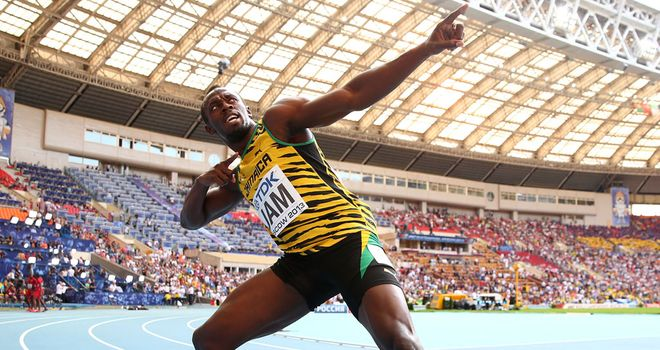 Usain Bolt: Chasing third straight Olympic gold in Rio