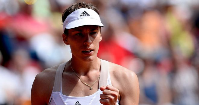 Andrea Petkovic: Putting the problems of the past year behind her