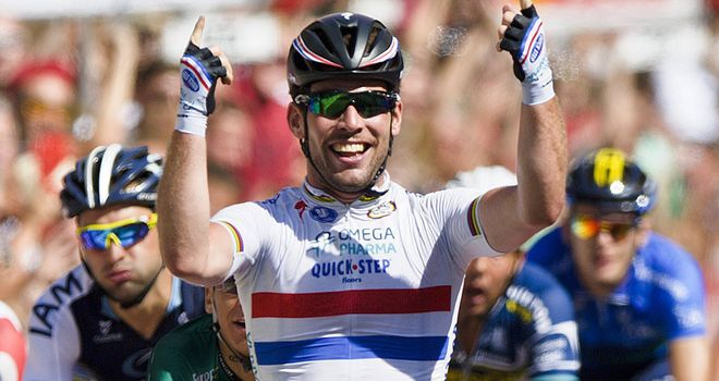 Mark Cavendish will lead Omega Pharma - Quick-Step at the Tour of Britain