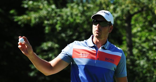 Henrik Stenson: Hoping to go one better after finishing runner-up in The Open