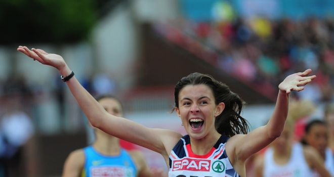Jessica Judd: Will want to repeat scenes like these on her return to the track after injury