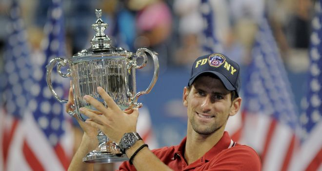 Novak Djokovic: Won his only US Open title in 2011