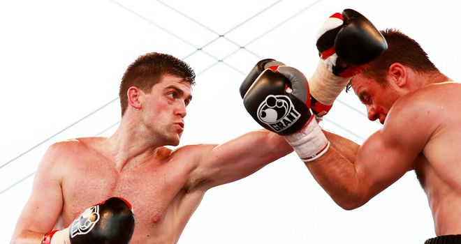 Rocky Fielding: Was due to defend his English title against Tony Dodson