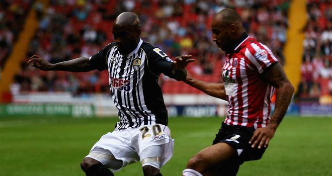Sheffield United beat 10-man County at Bramall Lane