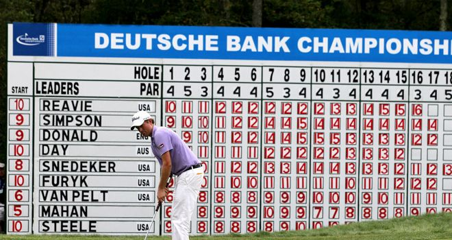 Webb Simpson won the Deutsche Bank Championship in 2011