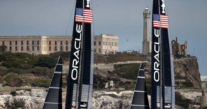 Oracle Team USA will be out to defend their crown against Team New Zealand in San Francisco