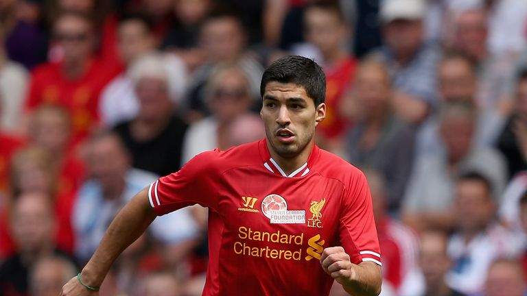 Luis Suarez: Eyed by Spurs