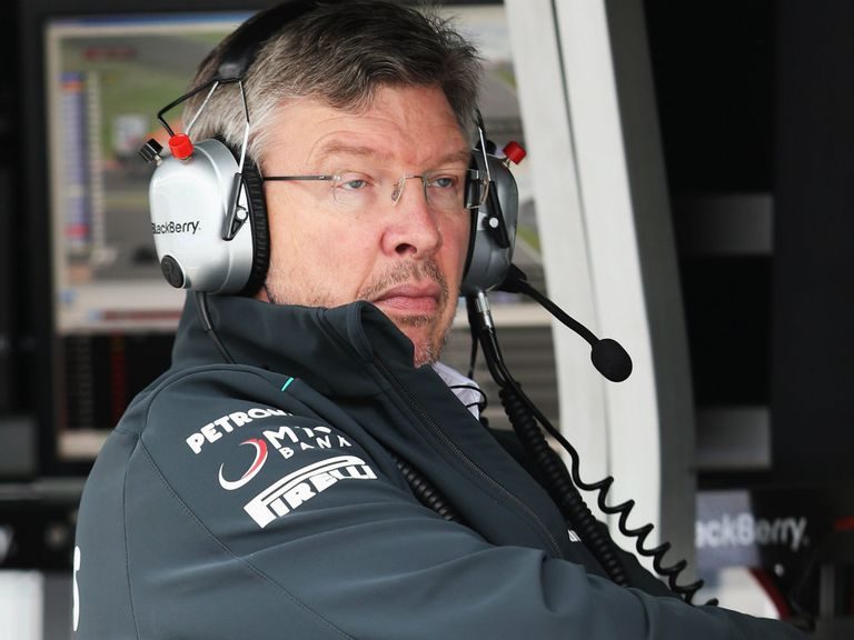 Ross Brawn: Set to leave Mercedes at the end of the season