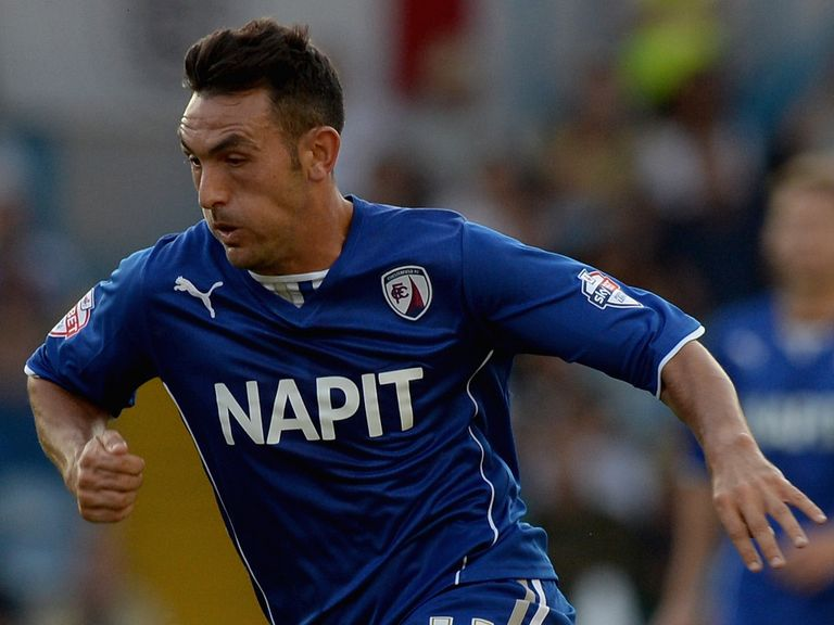 Gary Roberts: Two goals for Chesterfield midfielder