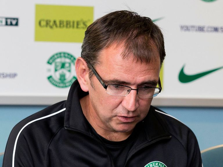 Pat Fenlon: Under increasing pressure at Hibernian