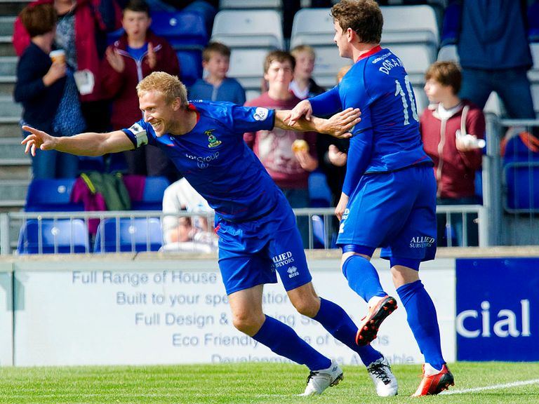 Richie Foran: Returns for Inverness