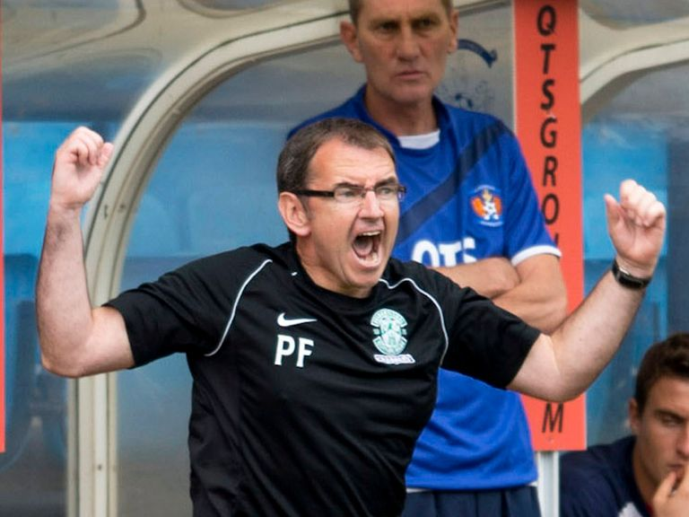 Pat Fenlon: Will be hoping his side can see off Aberdeen
