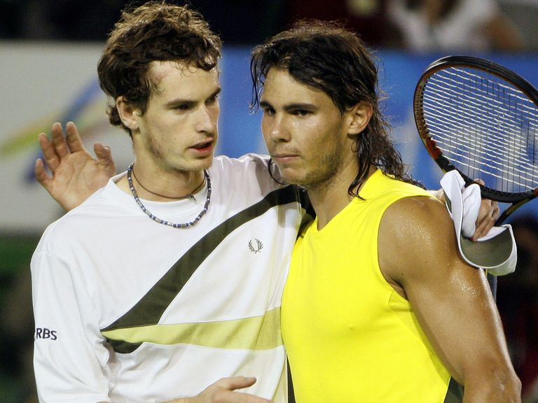 Nadal won the pair's first meeting at the 2007 Australian Open