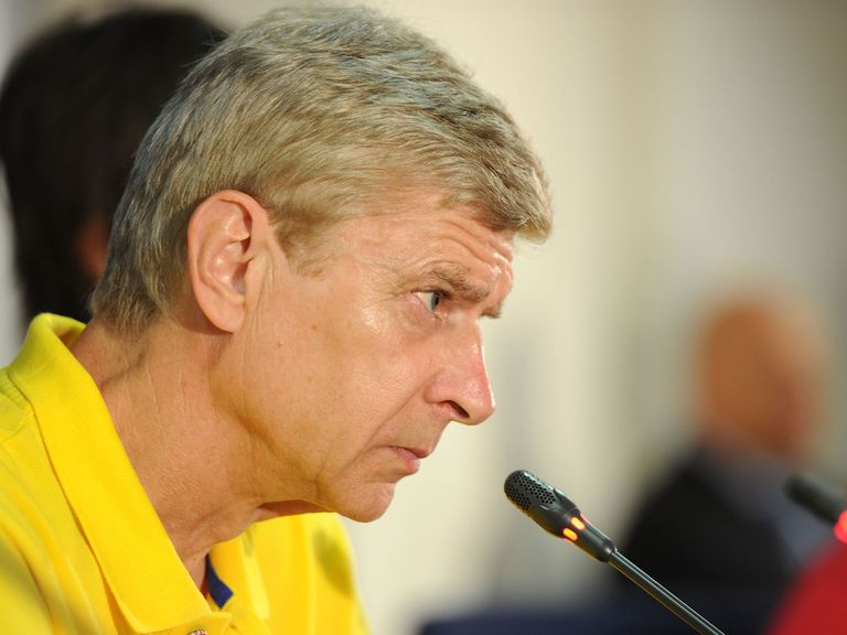 Wenger: Expects his Arsenal team to bounce back