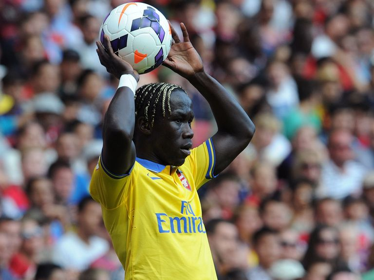 Bacary Sagna: Has picked up a minor injury