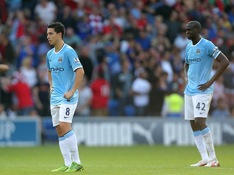 Manchester City were humbled at Cardiff on Sunday